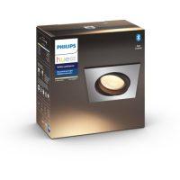 Philips Hue WA Milliskin Firkantet Downl 5.5W Alu
