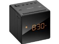 Sony Radio med alarmklokke, Klokke, AM,FM, 87,5 - 108 MHz, 531 - 1602 kHz, 0,1 W, 6,6 cm