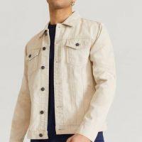 Studio Total Jeansjakke Favourite Denim Jacket Beige