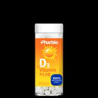 Vitamin D3, 180 tabletter