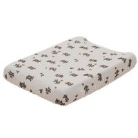 garbo&friends Blackberry Muslin Changing Pad Cover Beige one size