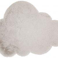 Alice & Fox Teppe Fake Fur Cloud, Silver