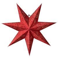 Beatrix Julestjerne Rød 72 cm