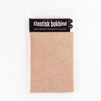 Bokbind tekstil glitter sand