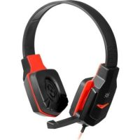 Defender WARHEAD G-320 Gaming + GRA headphones black and red