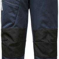 Didriksons Lövet Softshell Bukse, Navy, 110