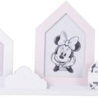 Disney Minni Mus Bildehylle Med Rammer, Pink/White