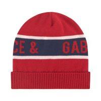 Dolce & Gabbana Branded Lue Rød 3-4 år