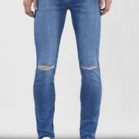 Dr.Denim Jeans Snap Worn Blå