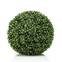 Emerald Kunstig buksbomball UV grønn 48 cm