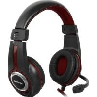 Headphones with a microphone Defender WARHEAD G-185 Gaming black-red + GRA