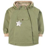 Mini A Ture Wai Jacket Oil Green 74 cm (6-9 mnd)