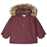Mini A Ture Wang Faux Fur Jakke Catawba Grape 3år/98cm