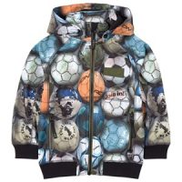 Molo Cloudy Softshell Jakke Football Camo 104 cm (3-4 år)