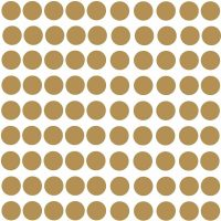 RoomMates Wallstickers Gold Confetti Dots