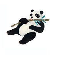 RoomMates Wallstickers Panda
