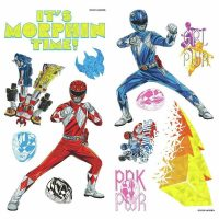 RoomMates Wallstickers Power Rangers