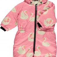 Småfolk Dress, Winter Pink 6-12 månader