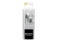 Sony MDR-E9LP - Hodetelefoner - ørepropp - kablet - 3,5 mm jakk - grå