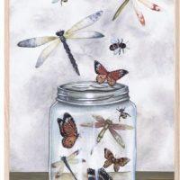 That's Mine Poster Glass Jar Treasures 30x40
