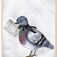 That's Mine Poster Love Dove Letter 30x40