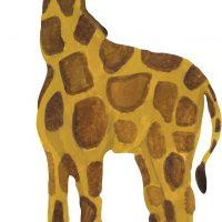 That's Mine Wallsticker Giraffe Baby