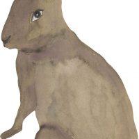 That's Mine Wallsticker Hare