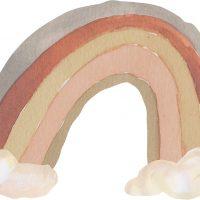 That's Mine Wallsticker Rainbow Large, Grey Tones