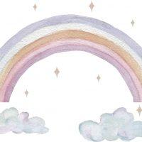 That's Mine Wallstickers Rainbow