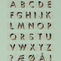 ViSSEVASSE Poster ABC Mint 50x70