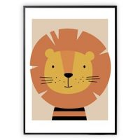 XO Posters Lion 30 x 40 Plakat One Size