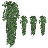 vidaXL Kunstige eføybusker 4 stk grønn 90 cm
