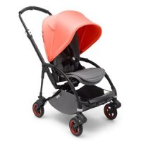 Bugaboo Bee5 Complete Limited Edition Black/Coral One Size