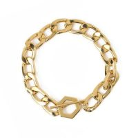 Chunky Hexagon T-Bar Bracelet