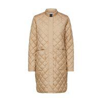 Fillipa quiltet coat Cornstalk
