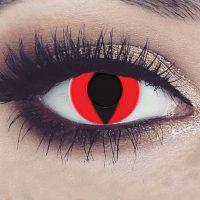 Halloween fargede kontaktlinser #026