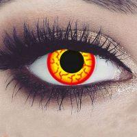 Halloween fargede kontaktlinser #062