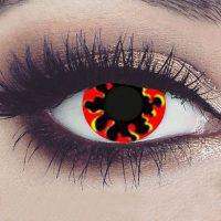 Halloween fargede kontaktlinser #099