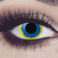 Halloween fargede kontaktlinser #162