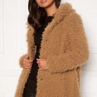 Happy Holly Jenny fur coat Camel 52/54