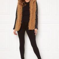 Happy Holly Jenny fur vest Camel 40/42