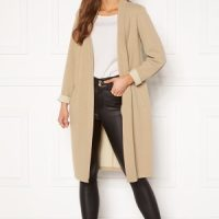 Happy Holly Stefanie tricot coat Beige 44/46