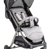 Hauck Swift Plus Sulky, Silver Charcoal