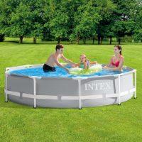 Intex Svømmebasseng Prism Frame Premium 305x76 cm