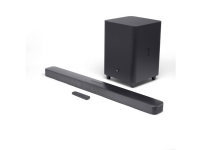 JBL Bar 5.1 Surround, 5.1 kanaler, 550 W, Dolby Digital 5.1, 250 W, 3,18 cm (1.25), 25,4 cm (10)