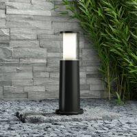 LED-sokkellampen Carlo svart 3,5 W CCT høyde 40 cm