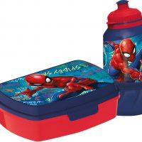 Marvel Spider-Man Matboks og Vannflaske