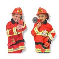 Melissa & Doug Fire Chief Role Play Costume Set 3 - 6 år