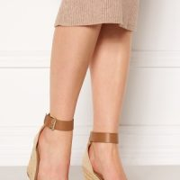 ONLY Amelia Wrap Eyelet Heeled Sandal Cognac 38
