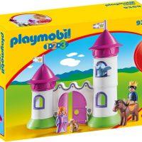Playmobil 9389 Slott Med Stabletårn